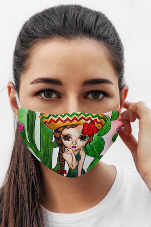 Mexican Siena Mask