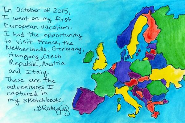 European Sketch Book No 1